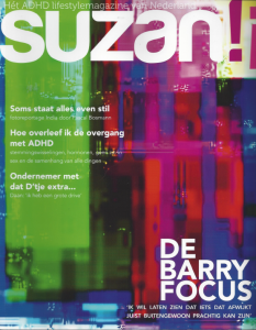 Suzan ADHD lifestylemagazine_voorpagina
